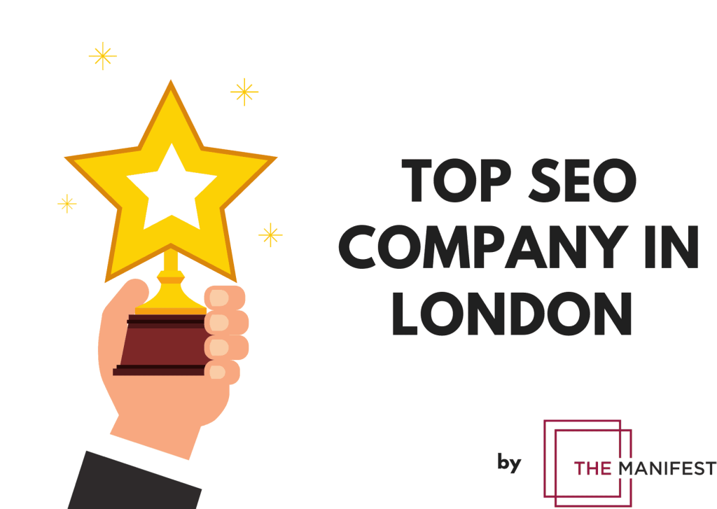 Top SEO Company in London by The Manifest