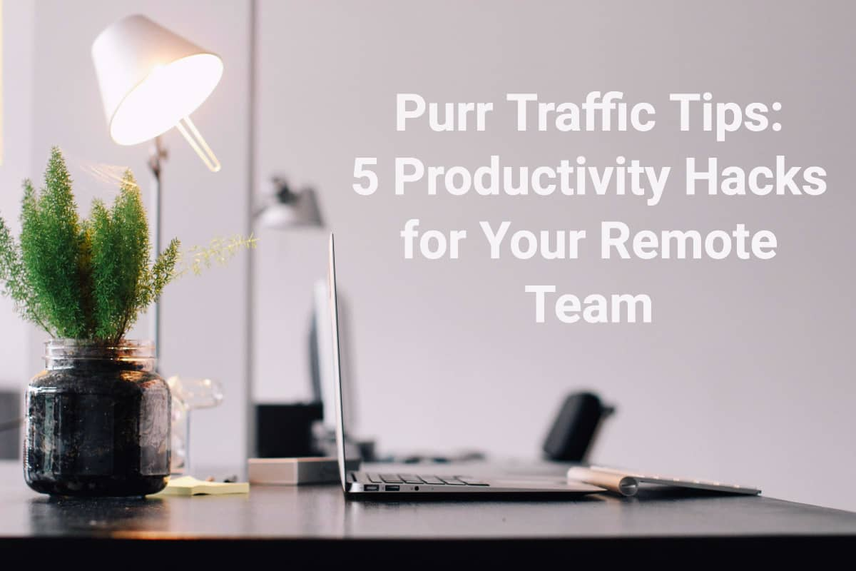 5 Productivity Hacks for Your Remote Team