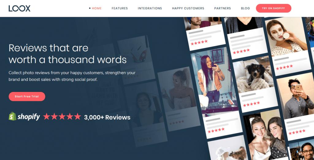 Loox Home Page