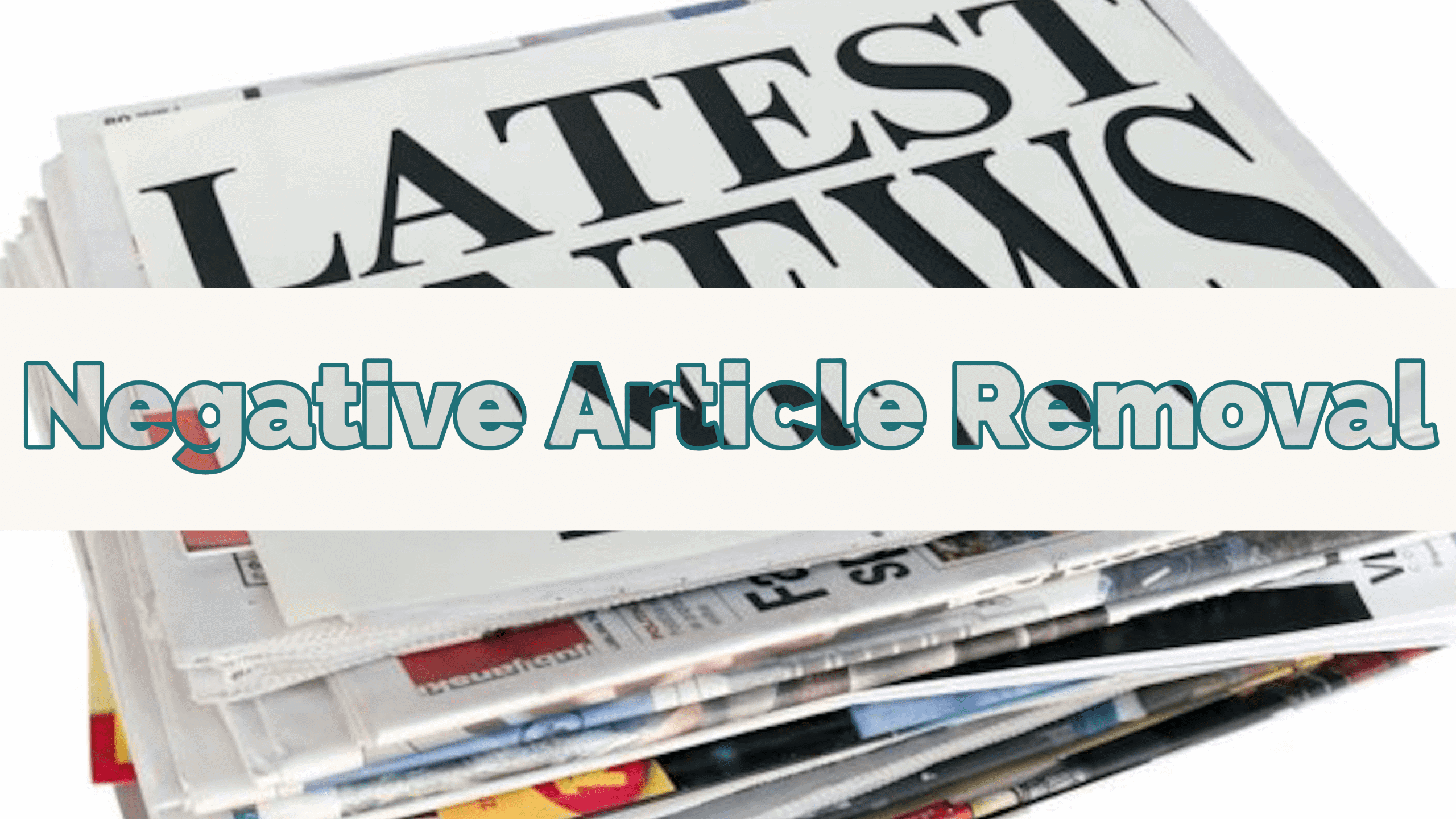 negative article removal