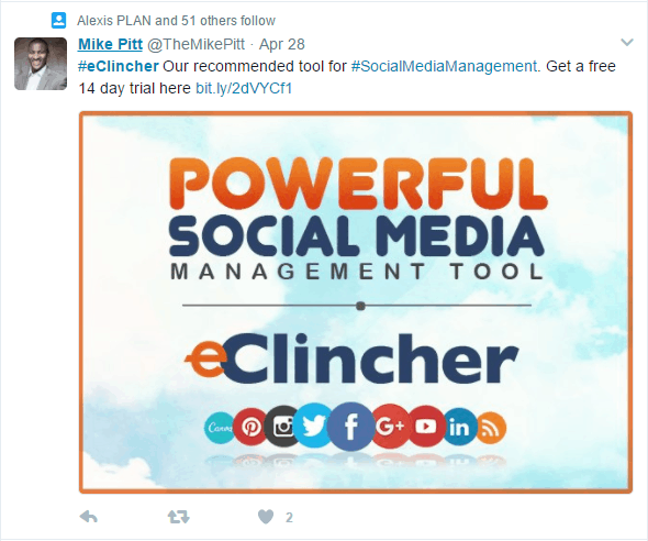Finding Influencers Using Hashtags eClincher