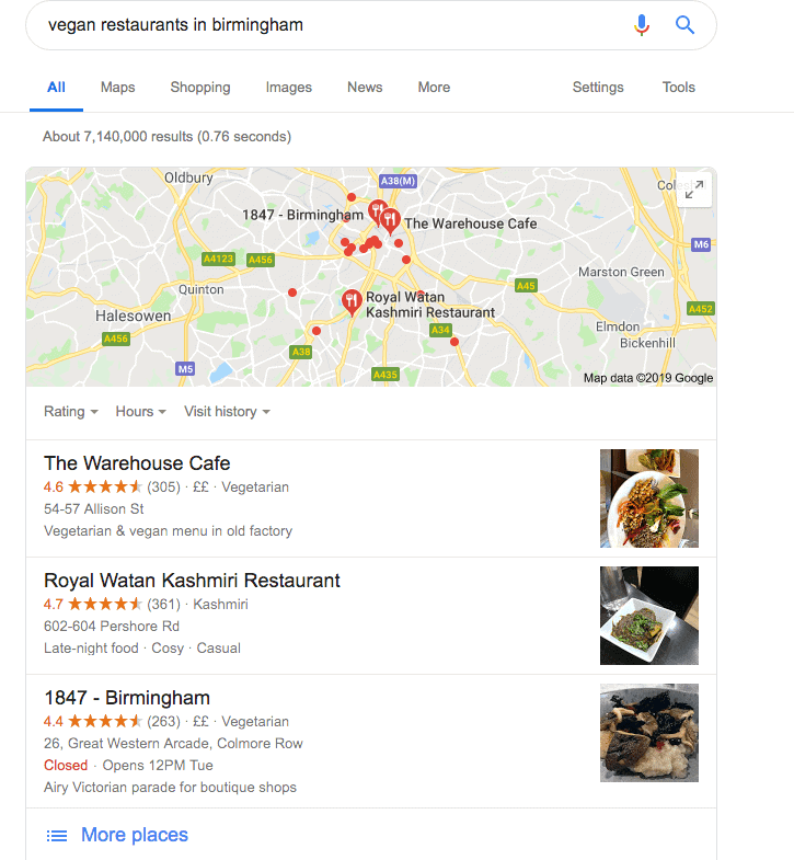 SEO for Restaurants Strategy And Keywords