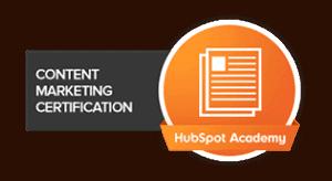 HubSpot Academy Content Marketing Certified