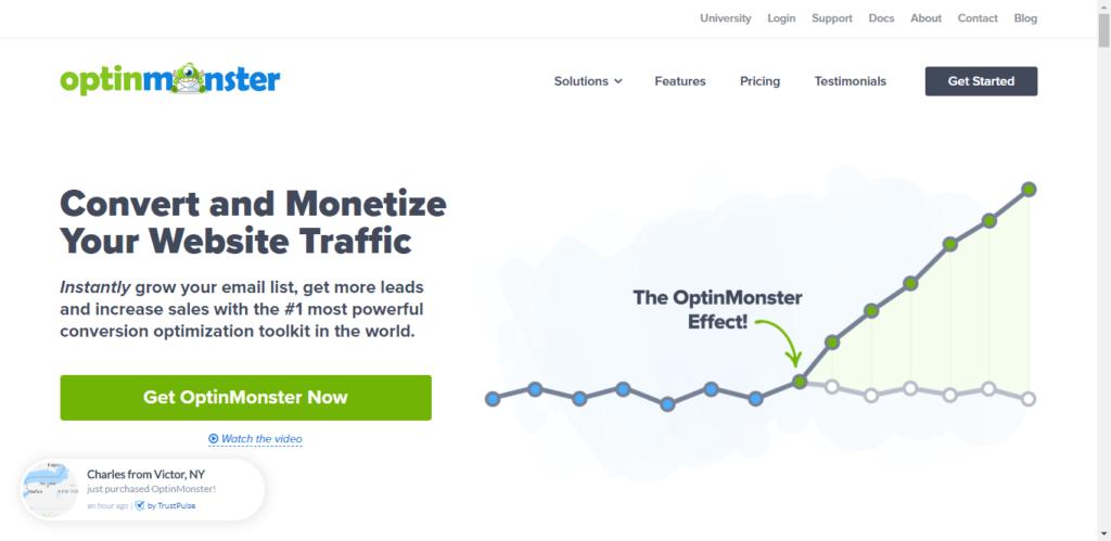 Optinmonster - SEO tools