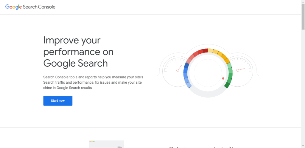 Google scearchc console for small business SEO