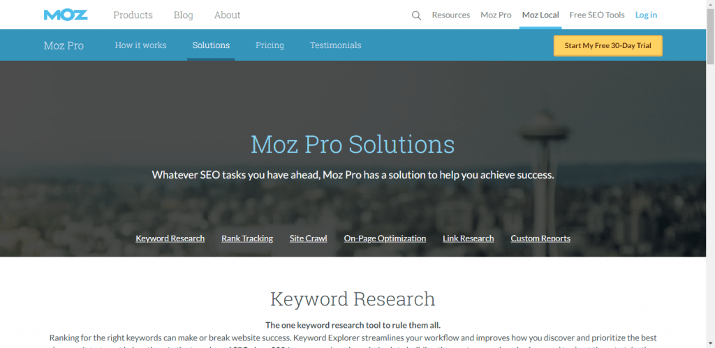 Moz pro affordable SEO packages