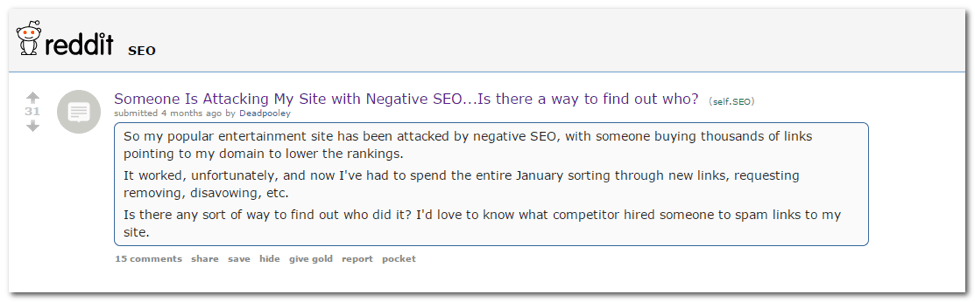 Reddit SEO