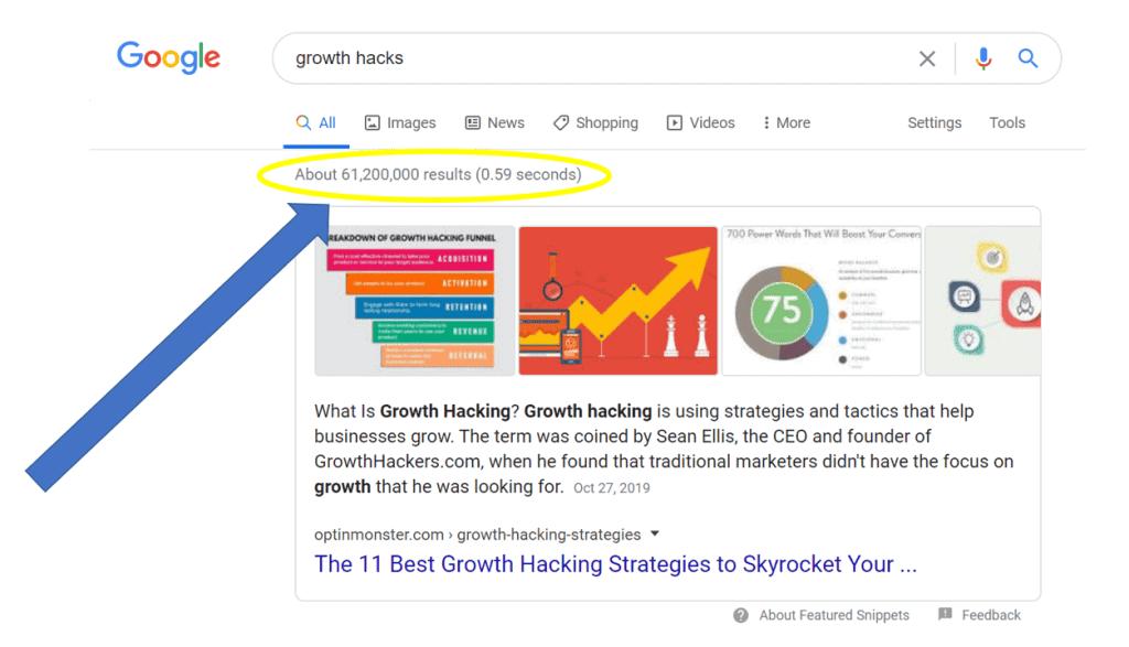 Google growth hacks