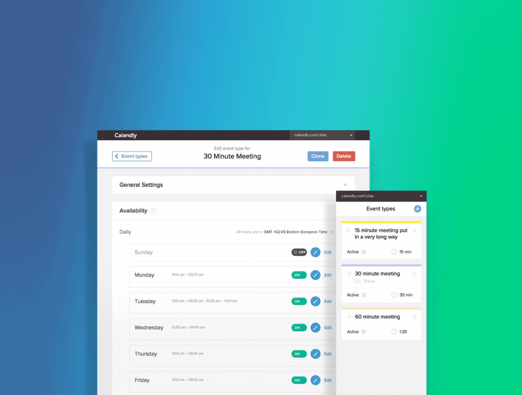Calendly Scheduling Tools
