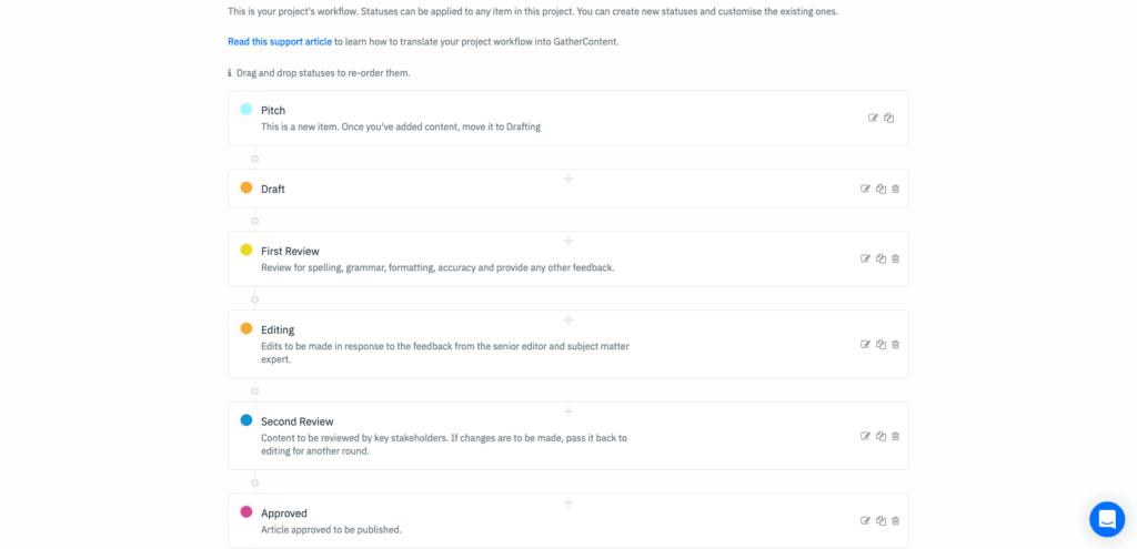 workflow example GetContent
