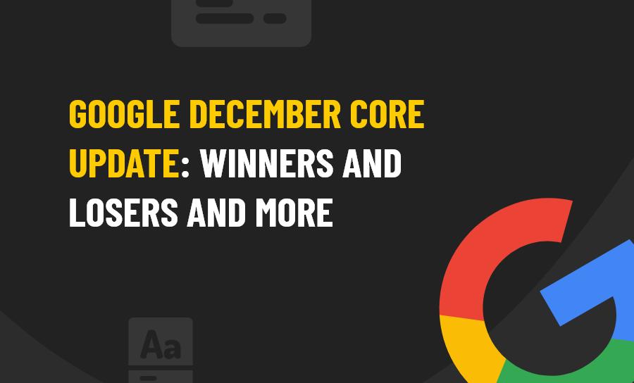 December Core Update