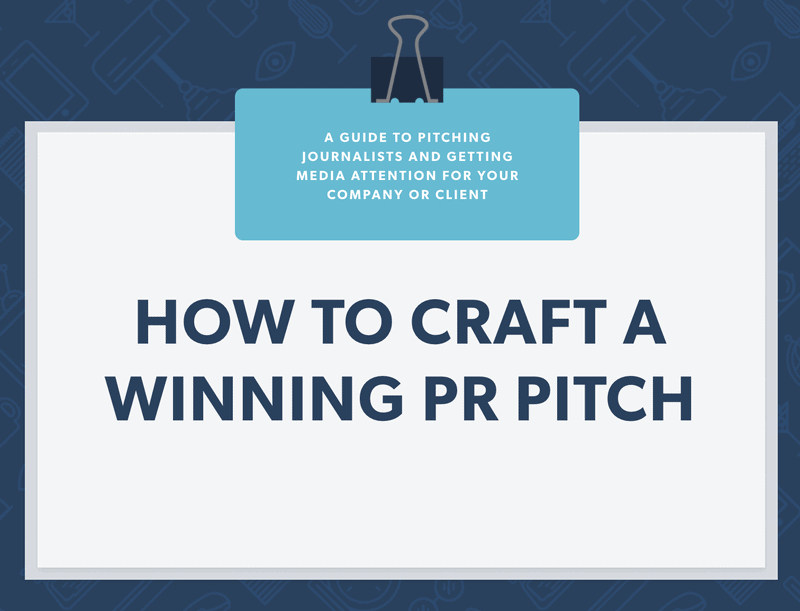 Banner with 'how to craft a winning pitch'