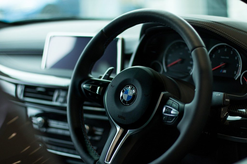 2013-black-BMW-sedan-interior video