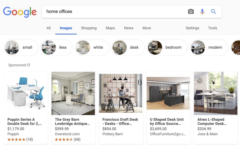 google shoppable image ads