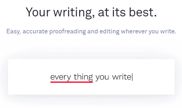 Your Writing at its best