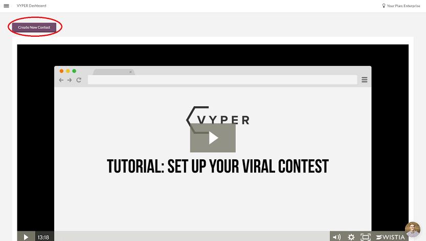 Create New Contest
