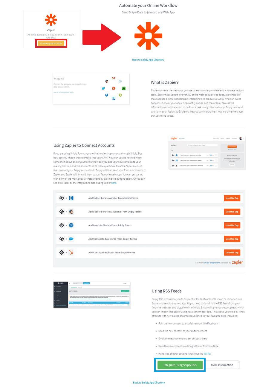 online workflow