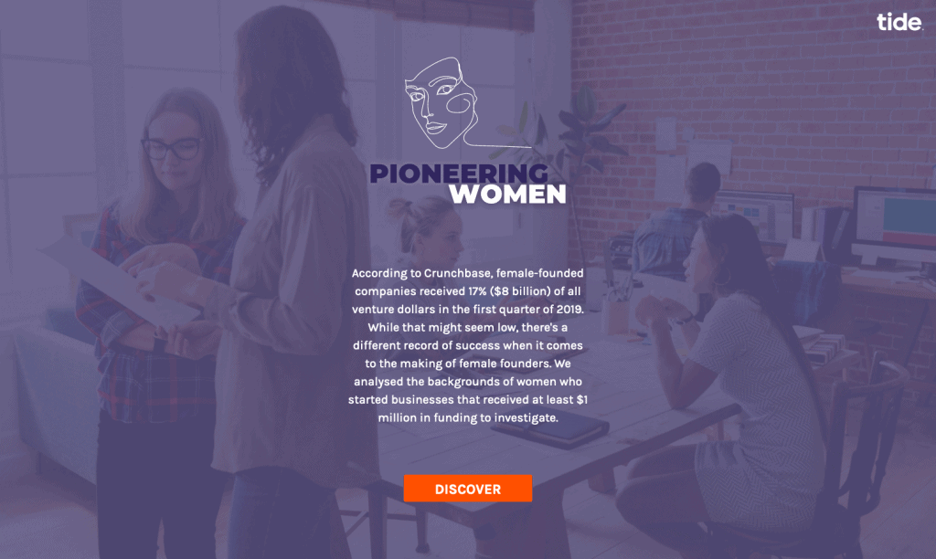 piorneering women