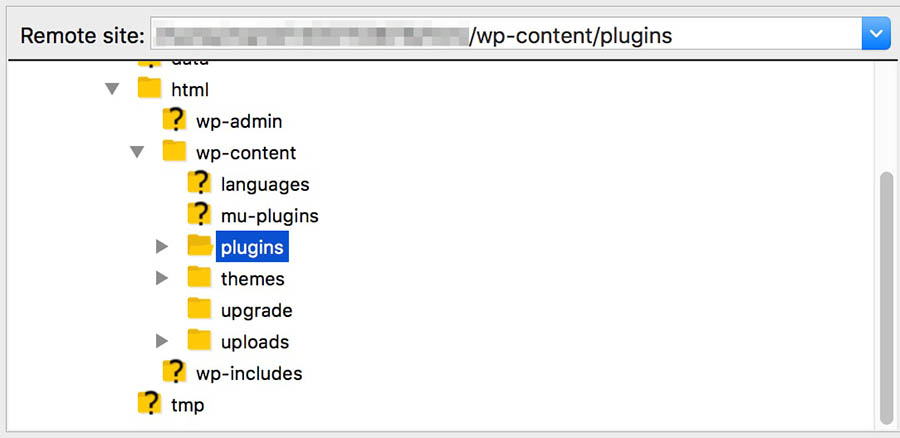 remote plugin deactivation