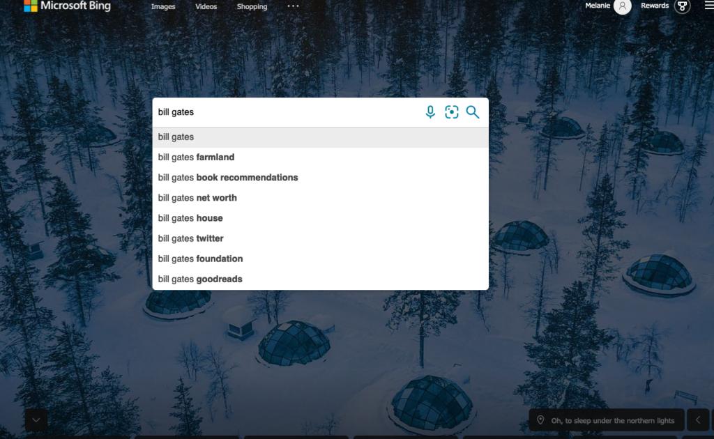 Bing SEO keywords