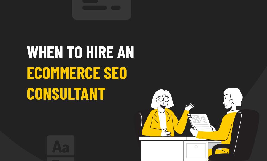 eCommerce SEO Consultant