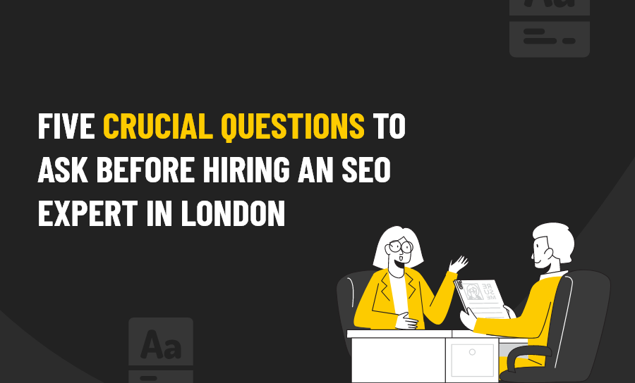 crucial questions to an seo expert