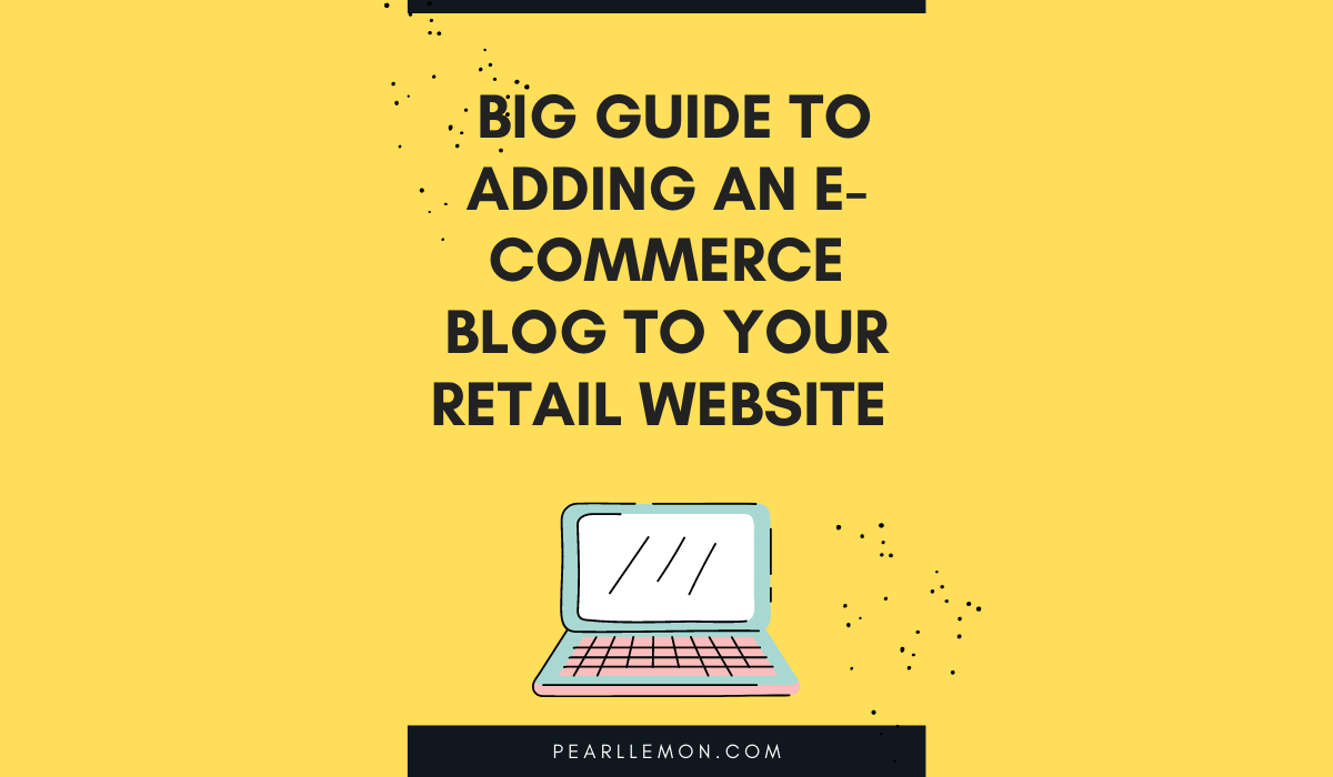 e-commerce blog