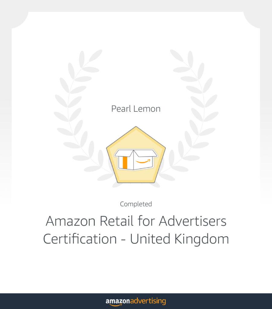 Amazon retail for advertisers