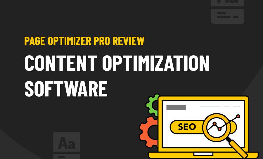 Page Optimizer Pro Review