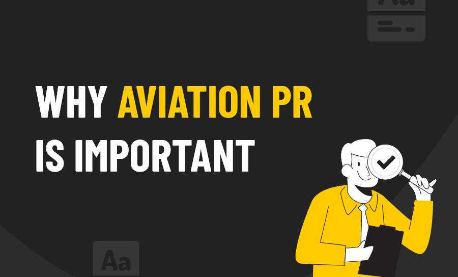 Aviation PR is Important