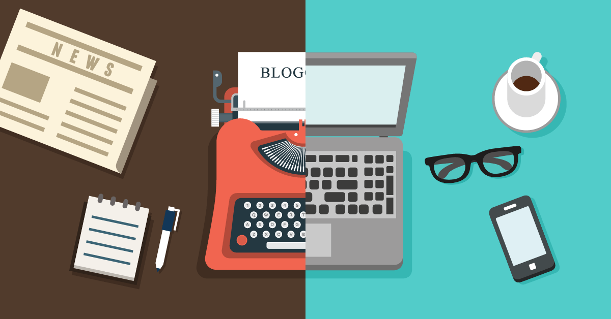 features of a blog