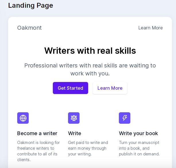Real Skills Writer
