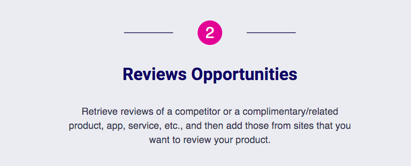 Review Opportunities