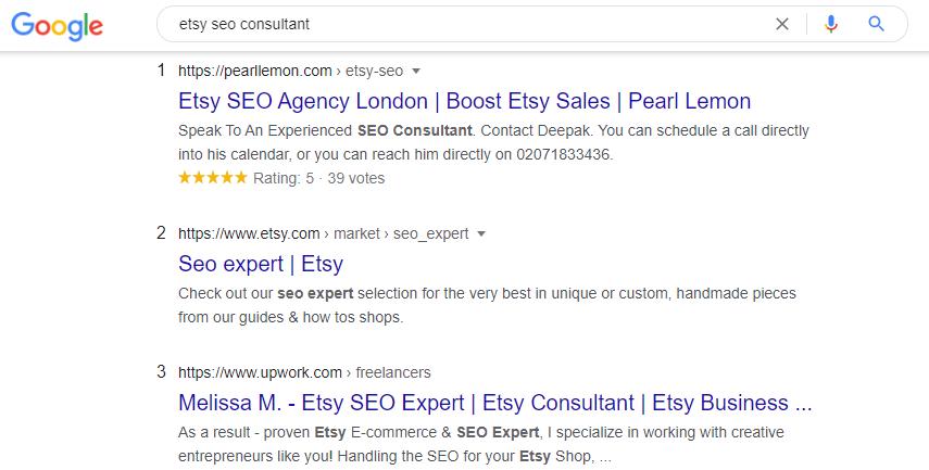etsy seo consultant