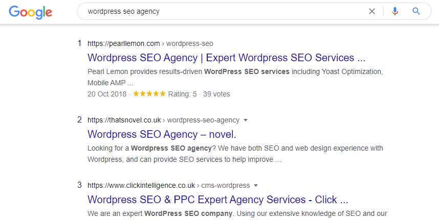 wordpress seo agency