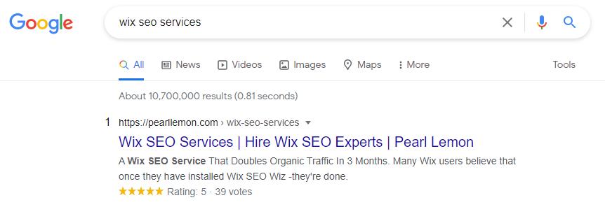 wix seo services