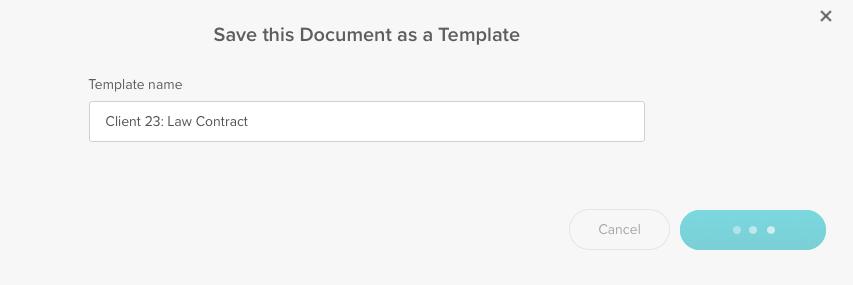 Save Document