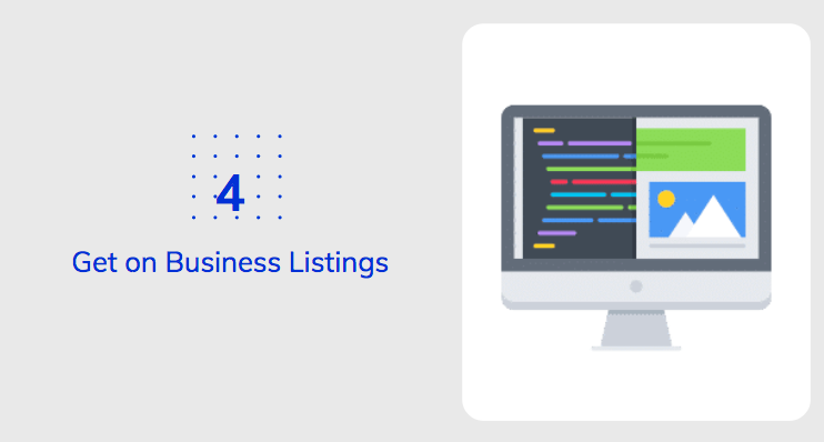 Get on Business Listings