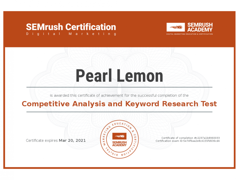 Certificate-competitive-analysis-and-keyword