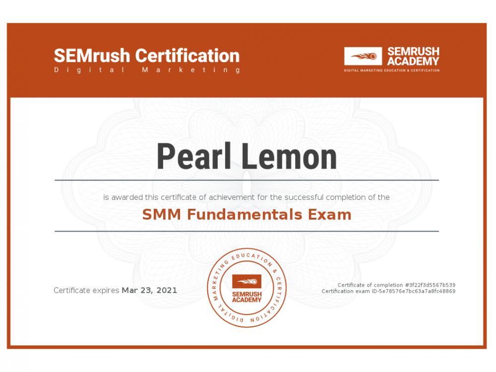 Certificate-smm-fundamentals