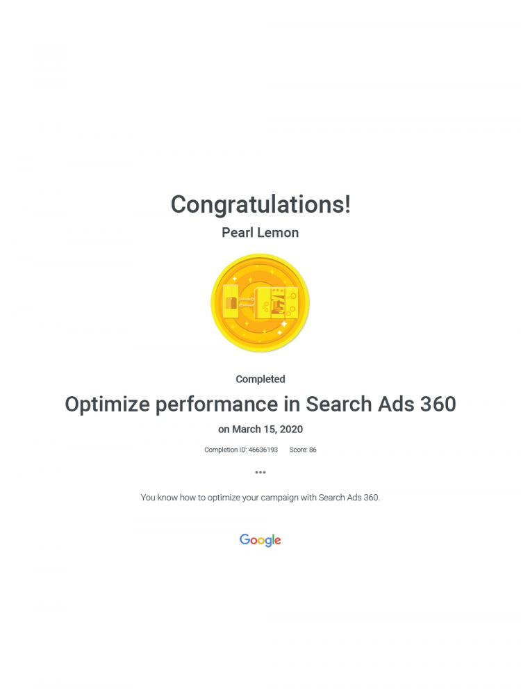 Optimize Performance In Search Ads 360