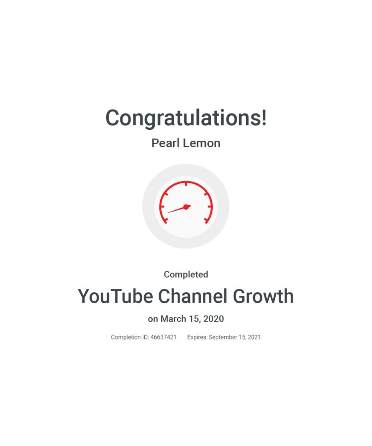 You Tube Channel Growth
