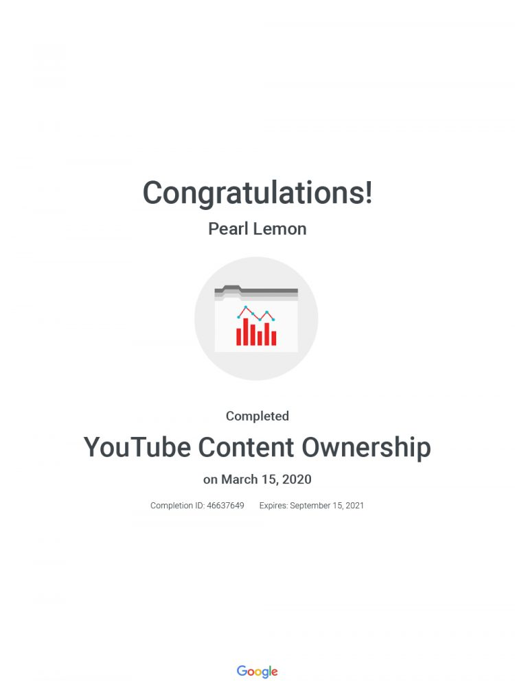 You Tube Content Ownership